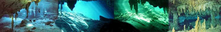 cenotes cavers of the riviera maya near playa del carmen and tulum scuba diving